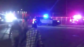 WATCH Minneapolis police ABANDON 3rd precinct as protesters TORCH it & celebrate