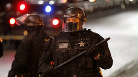 Justice center housing Portland sheriff's office SET ON FIRE by rioters (VIDEO)