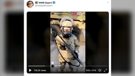 Wait, what… child soldiers? Confusion triggered by bizarre videos allegedly showing KIDS IN RIOT GEAR guarding Atlanta's streets