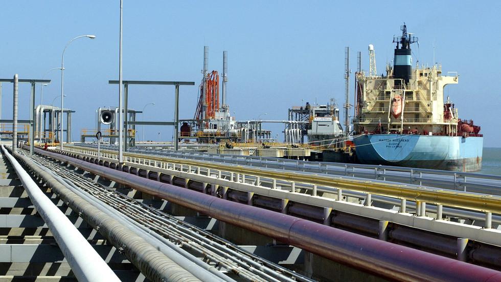 Venezuela's oil exports crash to 17-year low under tightening US sanctions