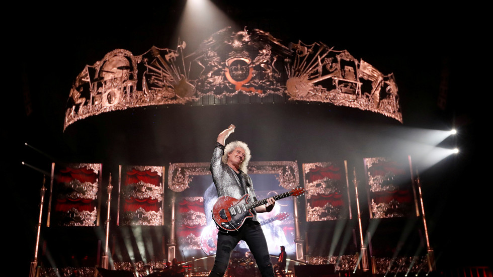 Queen's Brian May says he's 'crawling on hands and knees' after HEART ATTACK but recovering slowly
