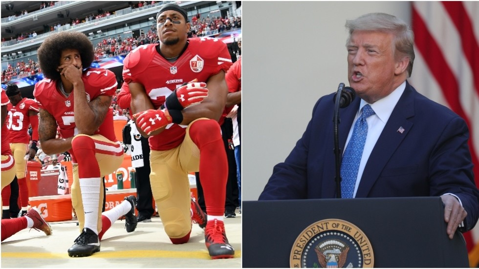 , NFL boss says 'we were wrong' over stance on player protests – but Trump yells 'NO KNEELING', TravelWireNews | World News, TravelWireNews | World News
