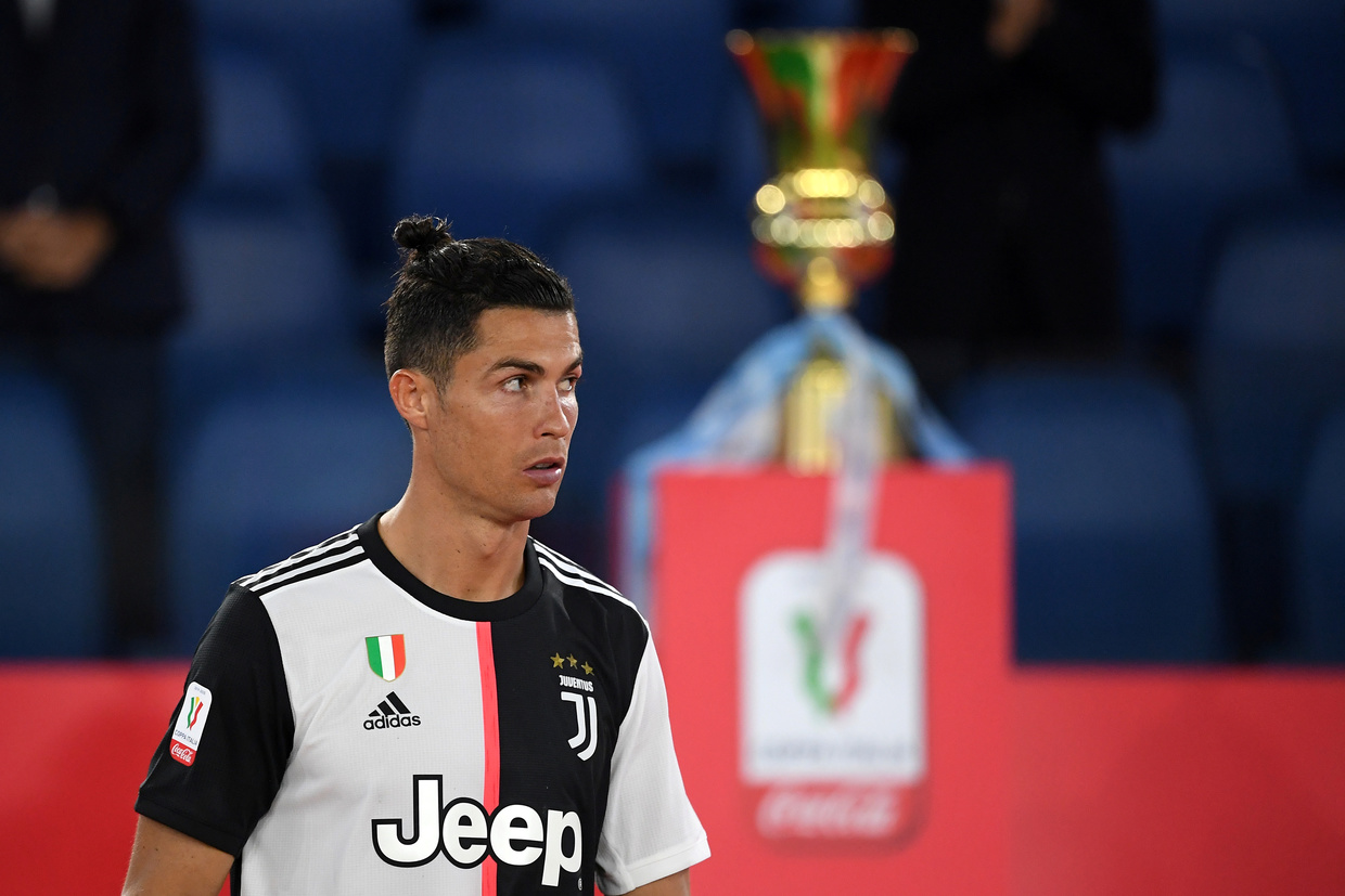 Ronaldo is lacking 'sharpness', says Sarri after Juventus lose Coppa Italia final