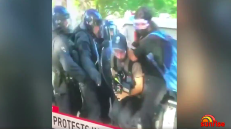 US police union disregards attack on Australian TV crew, says reporters were 'INDISTINGUISHABLE' from George Floyd protesters