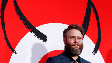 Seth Rogen at the premiere for the film 'Good Boys' in Los Angeles, California