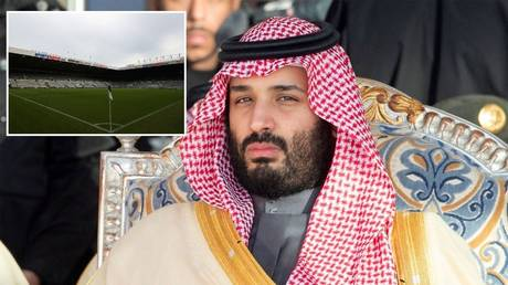 Saudi crown prince Mohammed bin Salman's move for Newcastle could be blocked by the Premier League © Reuters