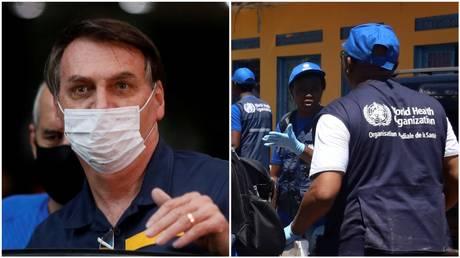 FILE PHOTOS © Reuters / Adriano Machado; Kenny Katombe