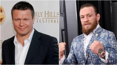 Oleg Taktarov and Conor McGregor © Getty Images / FilmMagic