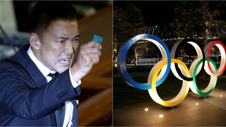Taro Yamamoto will cancel the Olympic Games in 2021 if he becomes Governor of Tokyo © Getty Images