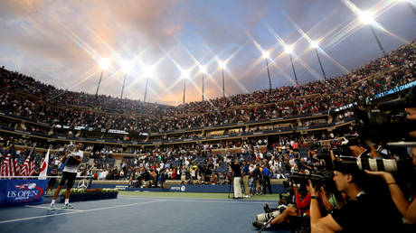 The US Open at Flushing Meadows. © Action Images