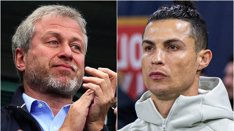 Roman Abramovich (left) has not declared any interest in signing Cristiano Ronaldo (right) - Getty / Chris Brunskill Ltd; Getty / RvS.Media/Monika Majer