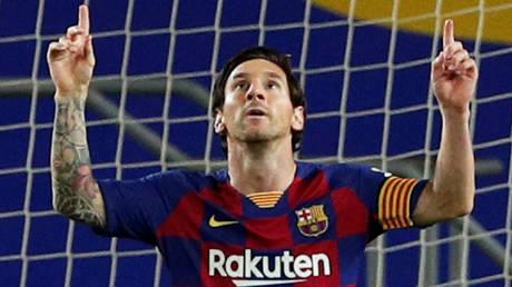 Barcelona captain Lionel Messi. © Reuters