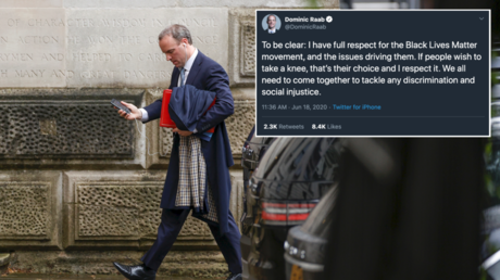 UK Foreign Sec Raab sparks further questions after grovelling apology over 'Game of Thrones' knee gaffe