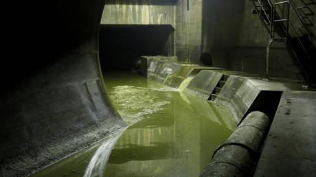 FILE PHOTO. An underground sewer facility in Tokyo, Japan. © Reuters / Toru Hanai
