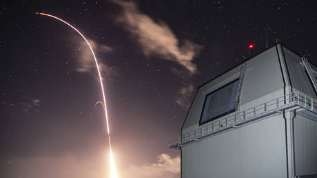 FILE PHOTO: Standard Missile 3 Block IIA is launched from the Aegis Ashore Missile Defense Test Complex.  © Global Look Press / US Navy