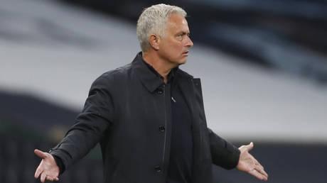 Tottenham manager Jose Mourinho. © Reuters