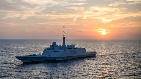 FILE PHOTO: French frigate FS Provence (D652)