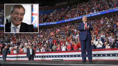 Farage investigated by US Homeland Security over trip to attend Trump Tulsa rally