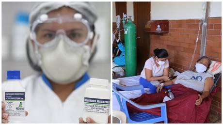 Amazon Peruvians get VETERINARY DRUG as