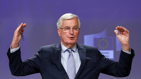 EU's Barnier accuses UK of 'backtracking' on commitments, but says Brexit trade deal 'still possible'