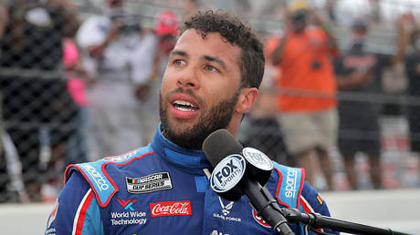 NASCAR racer Bubba Wallace. © Getty Images