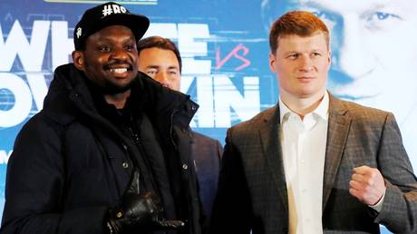 Dillian Whyte and Alexander Povetkin