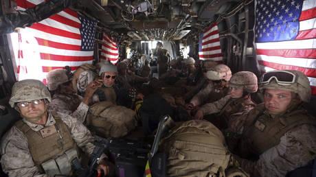 FILE PHOTO. US Marines in Afghanistan. ©REUTERS / Omar Sobhani