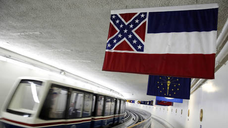 FILE PHOTO: The Mississippi state flag