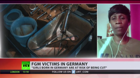 'Not just an African issue': Female genital mutilation victim shares harrowing story with RT as practice ON THE RISE in Germany