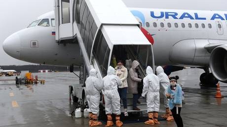 'We don't leave our people behind': Lavrov speaks to RT about evacuation of Russians stranded abroad over coronavirus