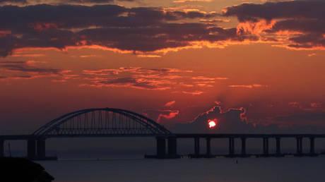 FILE PHOTO: Crimean Bridge © Reuters / Alexey Pavlishak