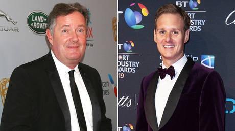 (L) GMB co-host Piers Morgan © Global Look Press / Kay Blake (R) BBC presenter Dan Walker © Global Look Press / Gary Mitchell