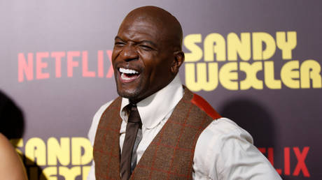 "FILE PHOTO: Terry Crews poses at a premiere for the Netflix original film ""Sandy Wexler"" in Los Angeles, California, April 6, 2017 © Reuters / Danny Moloshok"