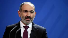 Armenian PM Pashinyan says he & his family have contracted coronavirus