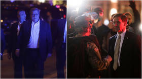 Defense Sec Esper, AG Barr inspect police lines in DC as protests rage on (VIDEOS)