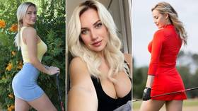 'They were upset because I called them b*tches': Golf stunner Paige Spiranac reveals she's turned DEATH THREATS into T-SHIRTS