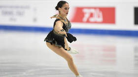 'It was difficult without ice': Russian figure skating ace Alina Zagitova resumes training