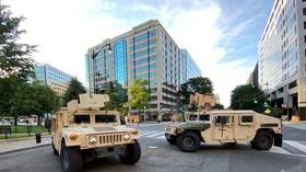 'Prudent planning measure': Pentagon flies 1,600 active-duty troops into DC area to be on standby as protests continue