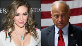 'Welcome to the GOP?' Alyssa Milano takes credit for Steve King's primary loss, despite opponent being pro-wall Trump fan