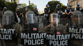 Active duty US military troops RETURNING to home bases after being deployed in DC over riots – report