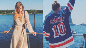 'It distracts people from what they're really fighting for': Hockey star Artemi Panarin's girlfriend on civil unrest in US