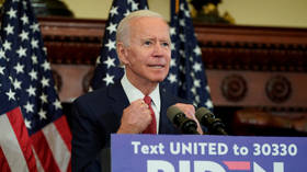 Biden hits delegate target to cement Democratic nomination after gaffe-prone campaign as protests overshadow election