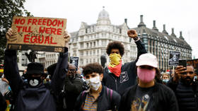 Black Lives Matter 'more important' than coronavirus: Thousands of demonstrators hit the streets of London (LIVE VIDEO, PHOTOS)