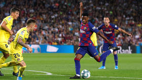 'I wanted a photo': Pitch invader SCREAMS at Barcelona star Messi after evading security at behind-closed-doors match (VIDEO)