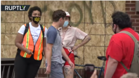 'Resign!' Minneapolis mayor ejected from George Floyd protest after he shuns call to 'defund police' (VIDEO)