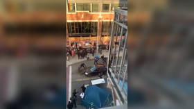 One person injured after man drives car into George Floyd rally in Seattle, opens fire