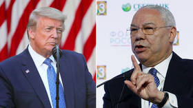 Trump brands 'overrated' Colin Powell a warmonger after ex-Secretary of State slams president as dangerous & unconstitutional