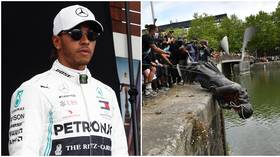 Pole position for virtue-signalling: Mercedes' all-black cars show sport is locked in gimmicky race to prove who cares more