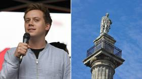 Guardian writer Jones derided after promoting website seeking to topple Earl Grey statue,UK PM responsible for ending slavery