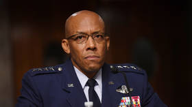 Trump celebrates Senate approval of 'FIRST-EVER African-American military service chief' as Charles Brown takes over USAF